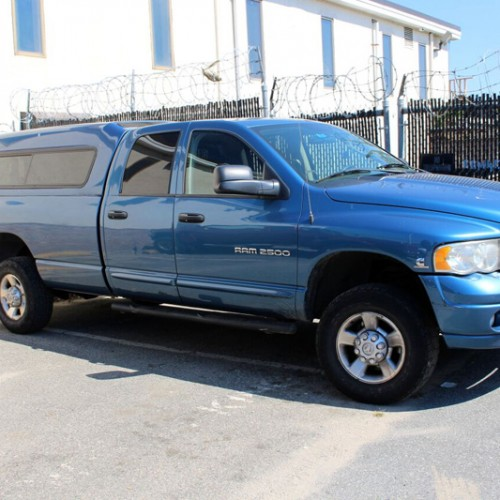 Dodge Ram 2500- This powerful Diesel Truck hauls equipment in its 8' bed as well as Gomberts 2 enclosed Construction Trailers.